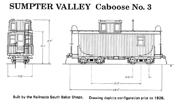 Re Sumpter Valley Cabooses