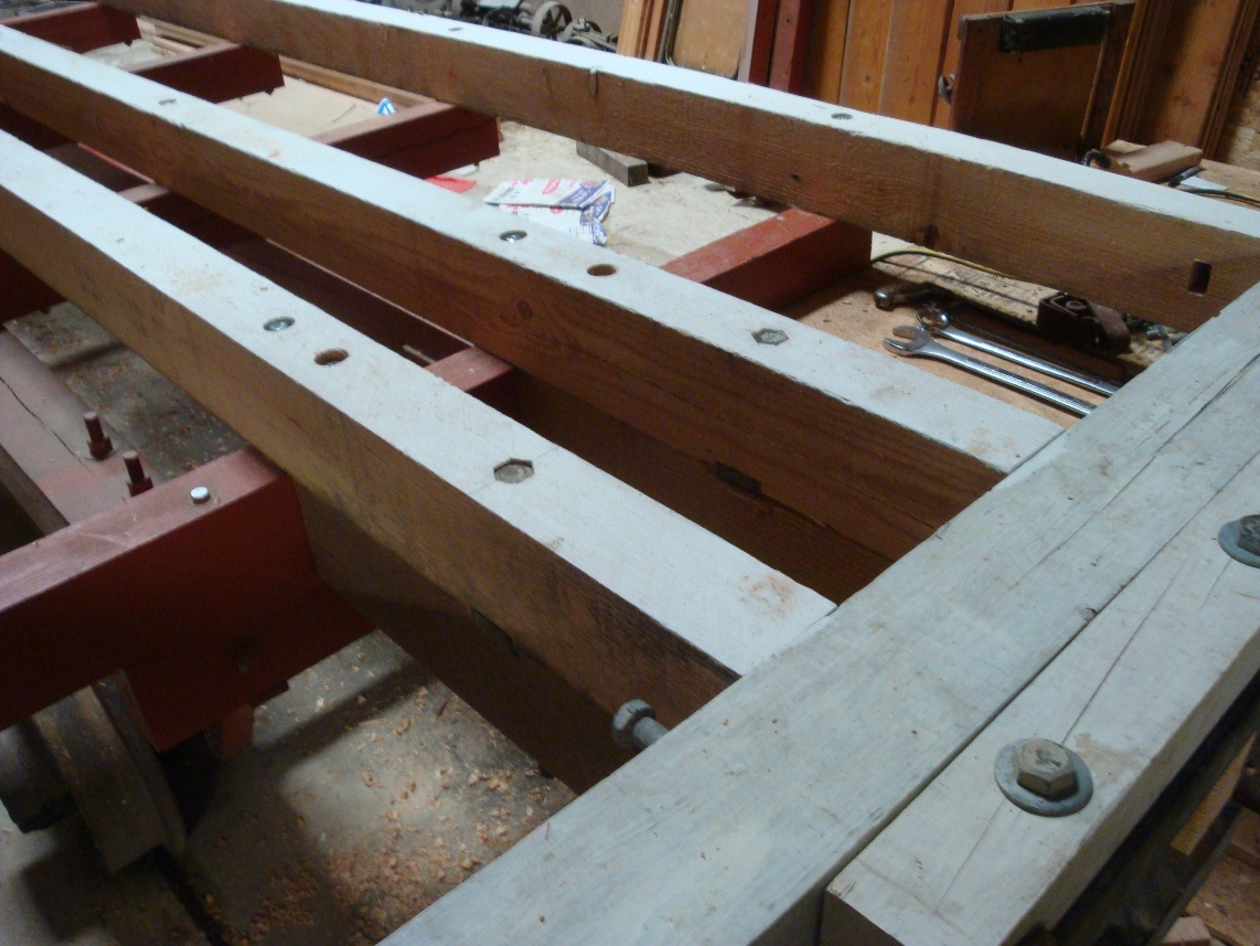 draft beams with bolt through steel shear block.JPG