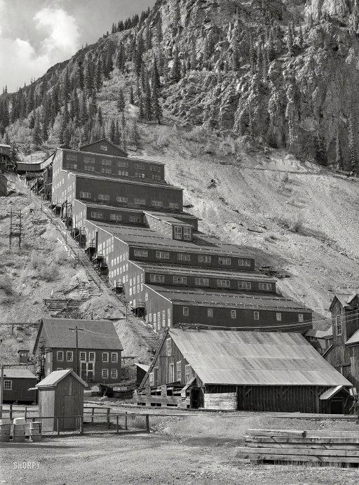Sunnyside Mill, Silverton, CO, 1940 - Russell Lee.jpg