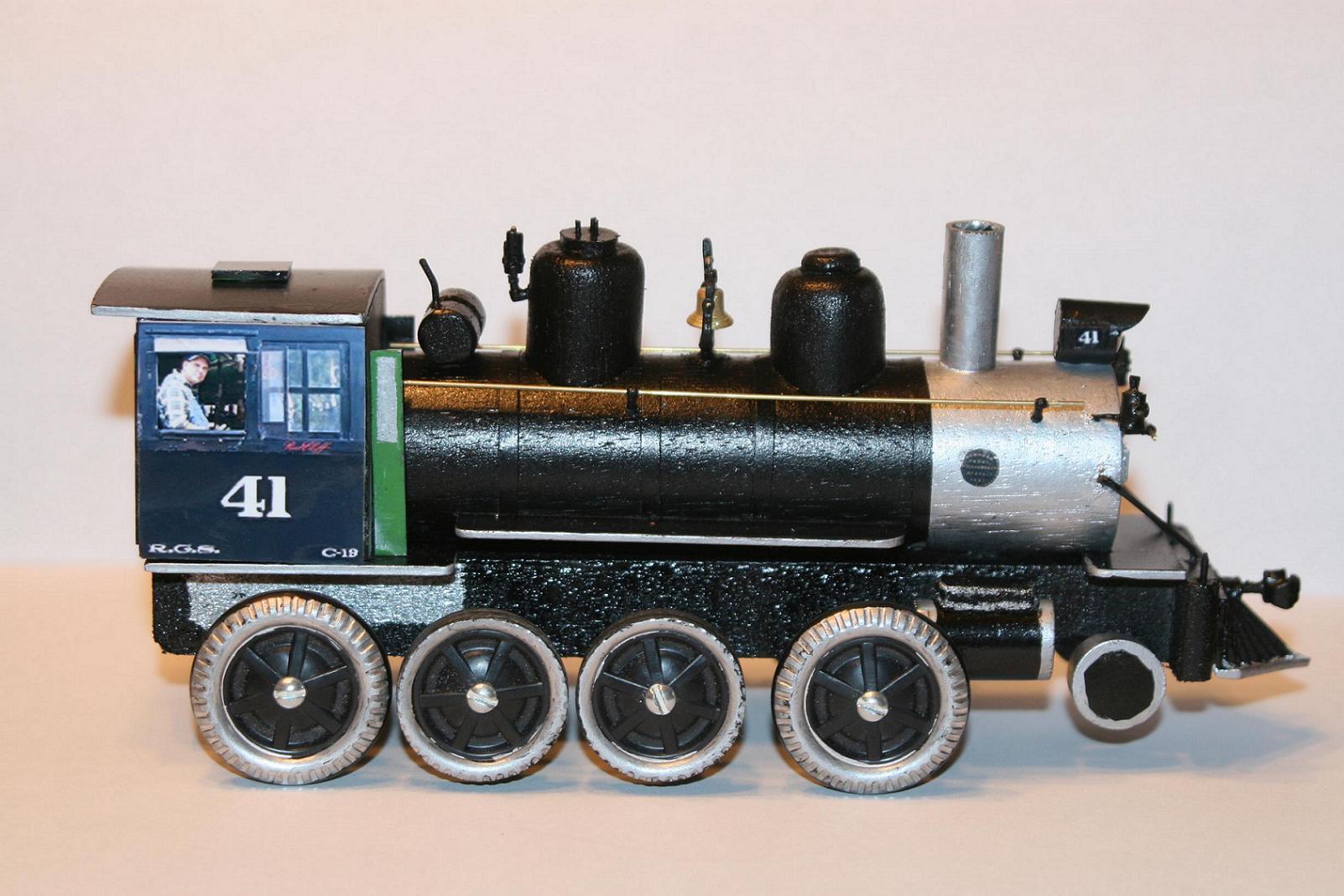 RGS #41 Pinewood Derby Car/Train